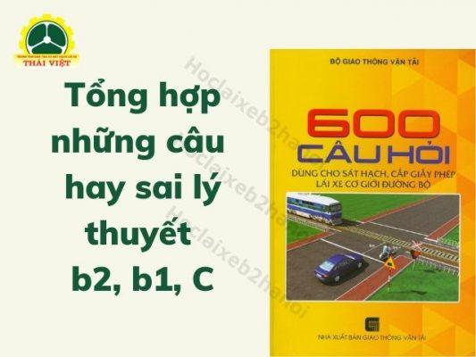 Tong-hop-nhung-cau-hay-sai-ly-thuyet-b2-b1-C